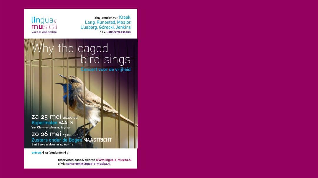 Why the caged bird sings: 25 en 26 mei 2019